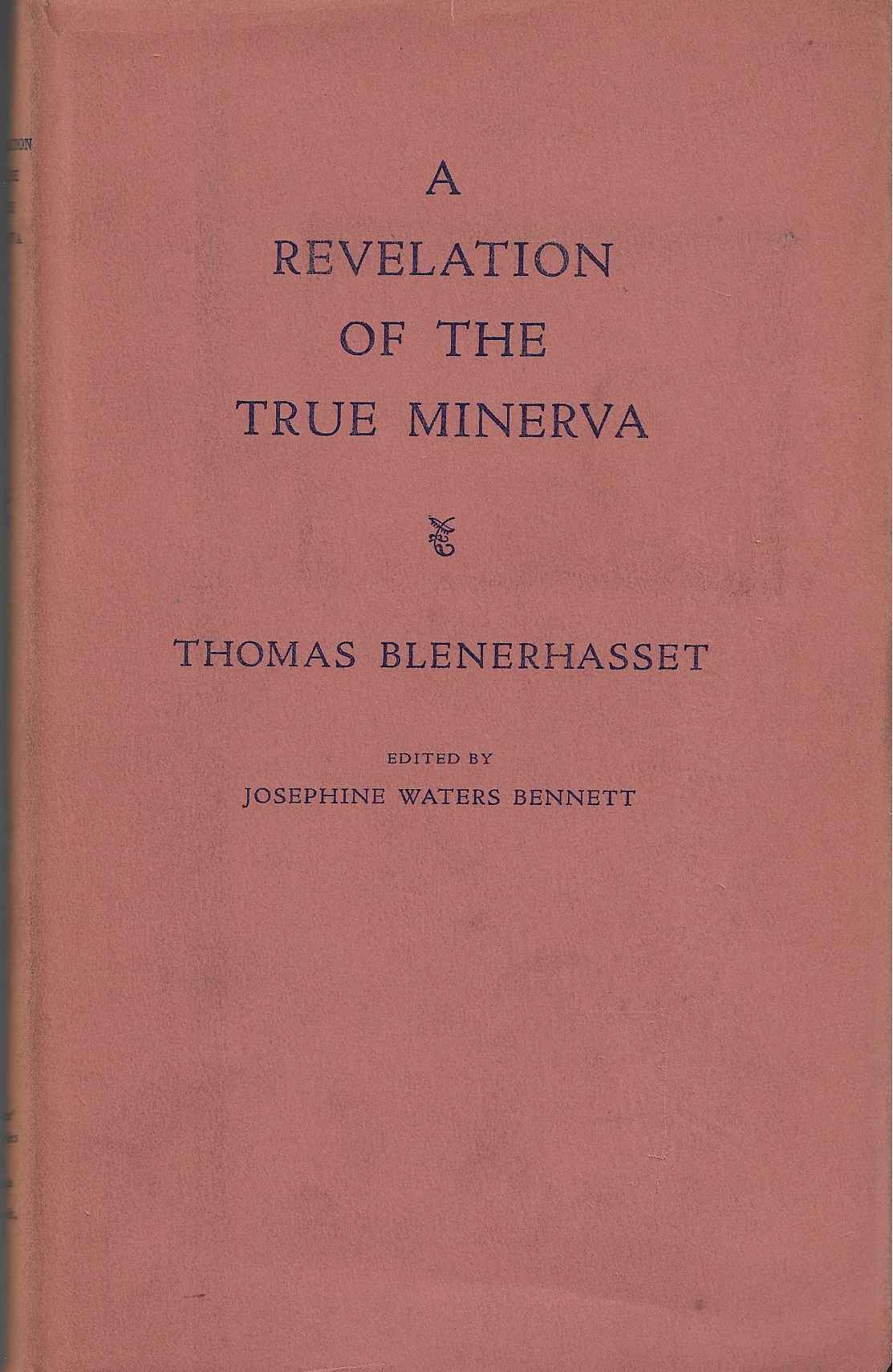 Image for A Revelation of the True Minerva