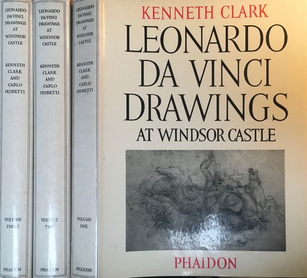 Image for Leonardo Da Vinci Drawings  [Three Volumes] In the Royal Library at Windsor Castle