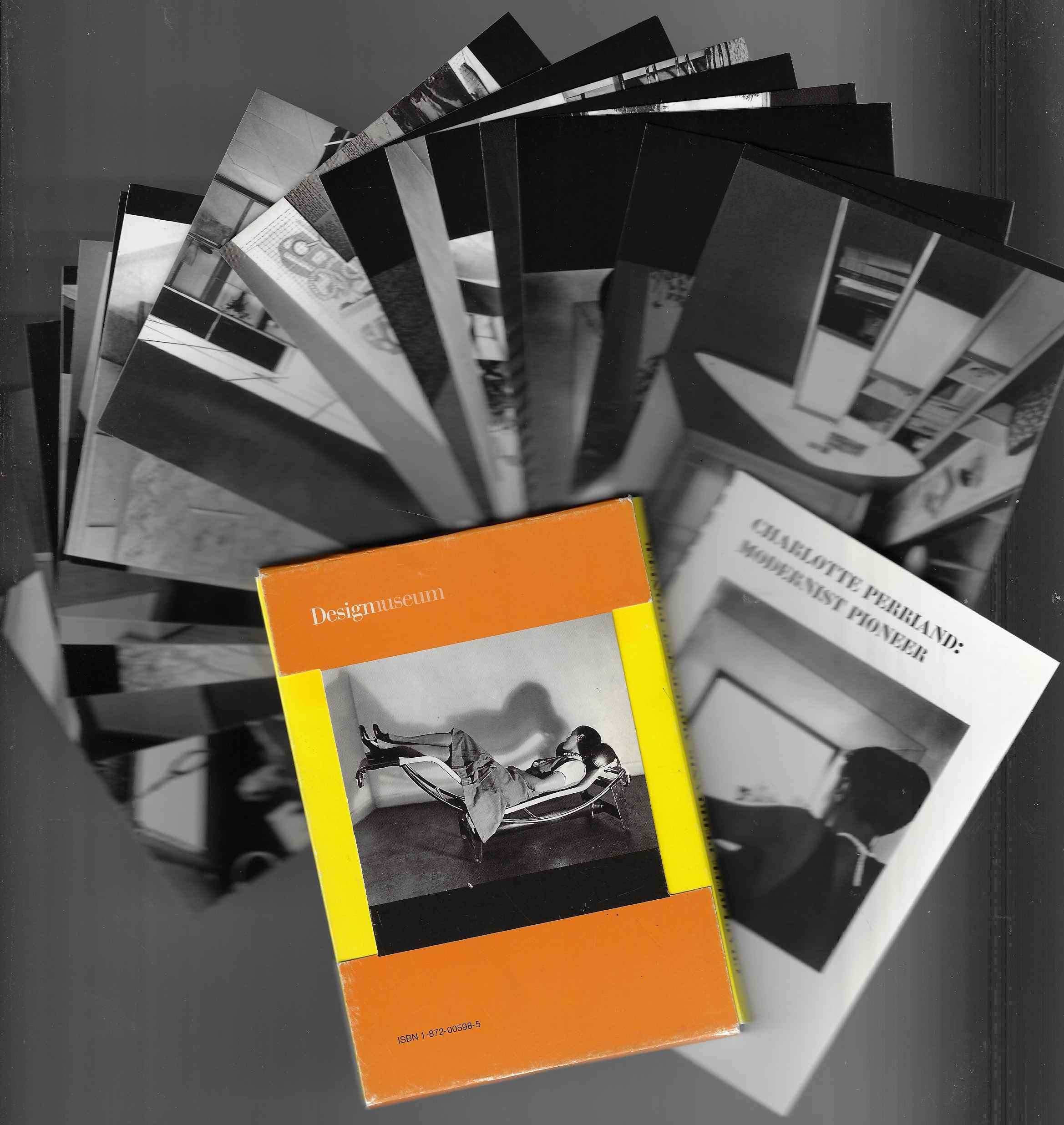 Image for Charlotte Perriand Modernist Pioneer - Design Museum postcard set accompanied by an essay in a pamphlet