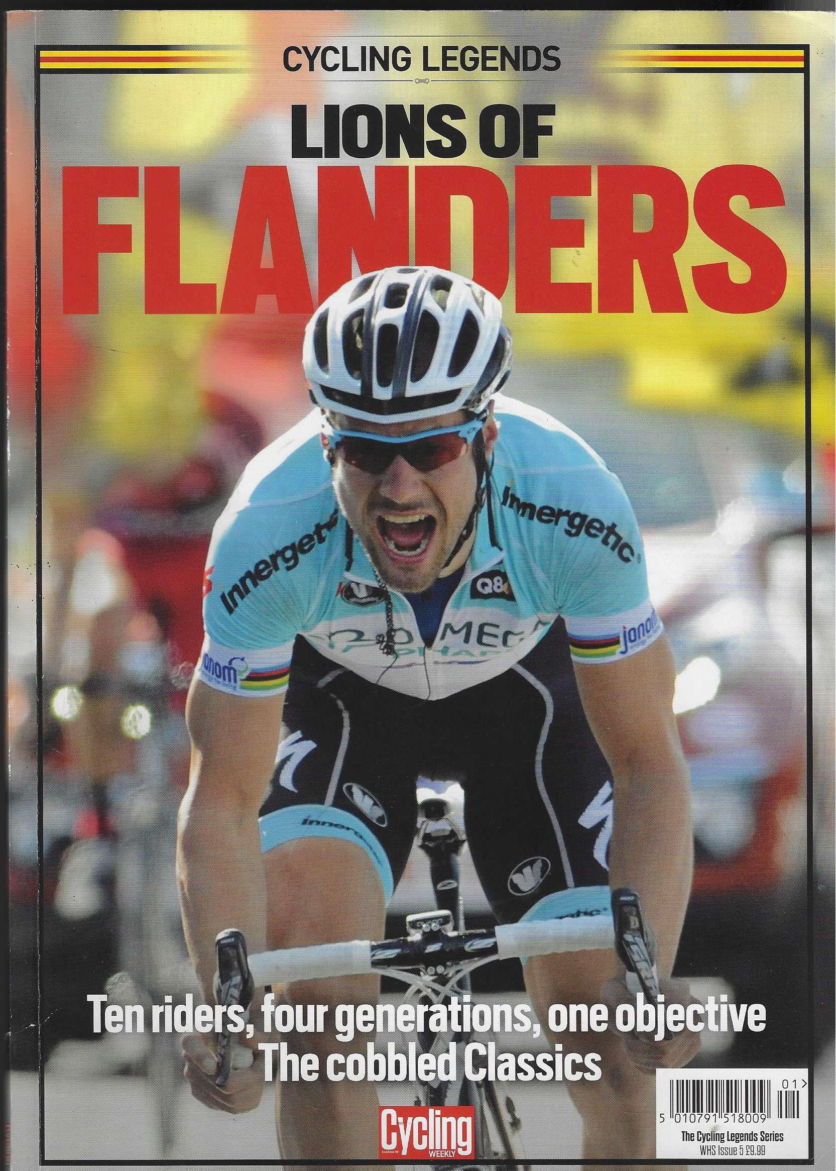 Image for Cycling Legends: Lions of Flanders Cycling Weekly - WHS Issue 5 - Nov 2015