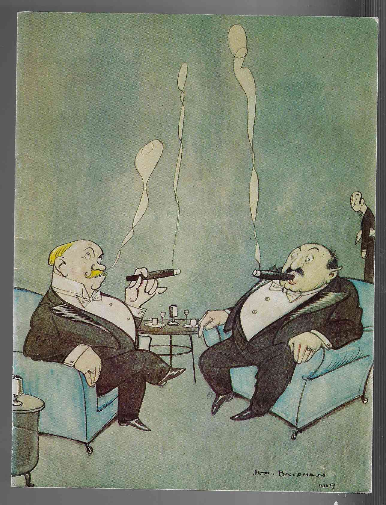 Image for Caricatures by H. M. Bateman Leicester Galleries Exhibition 1974