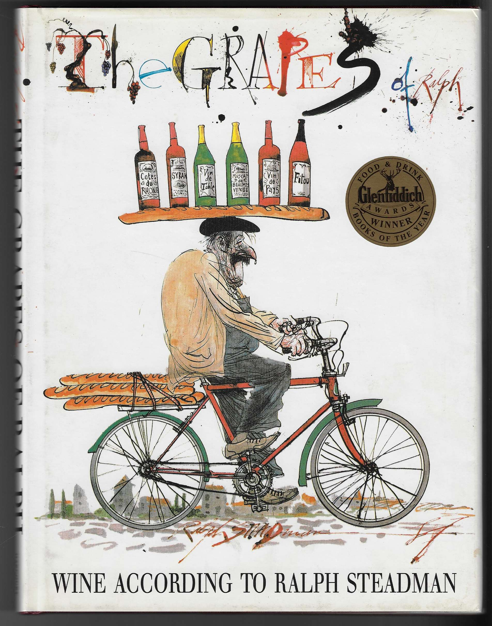 Image for The Grapes of Ralph [with signed illustration on title page] Wine According to Ralph Steadman