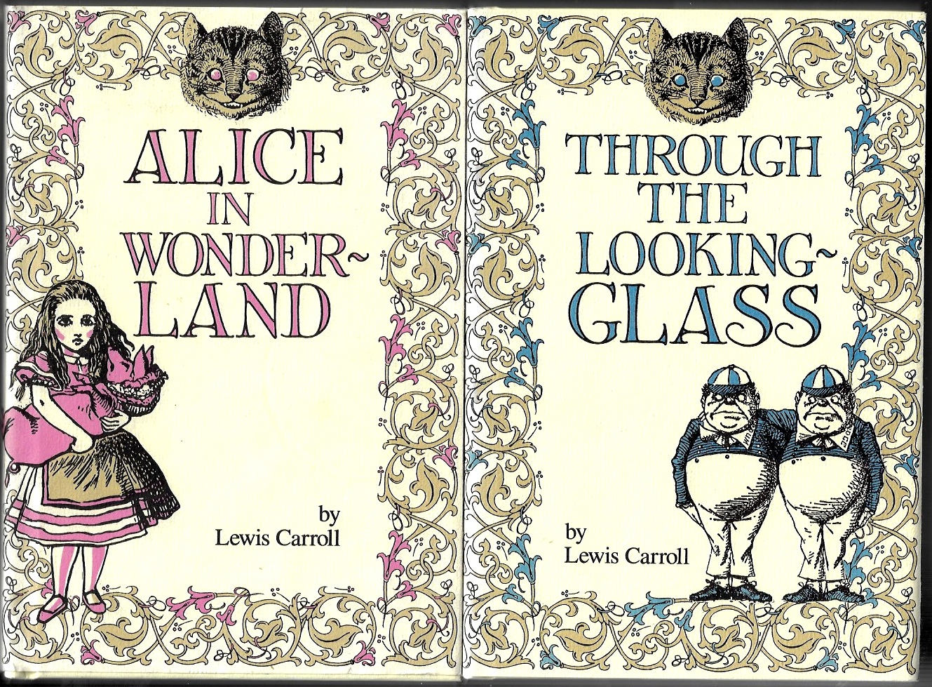 Image for Alice in Wonderland and Through the Looking-Glass and What Alice Found There: 2 Vols, boxed set.