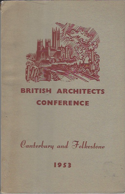 Image for British Architects Conference, Canterbury and Folkestone 10th-13th June 1953