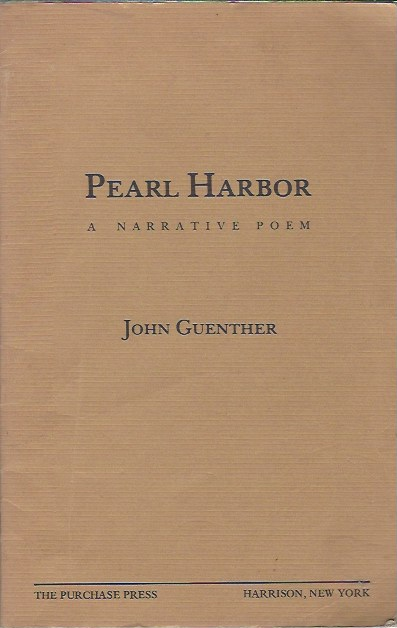 Image for Pearl Harbor - a Narrative Poem