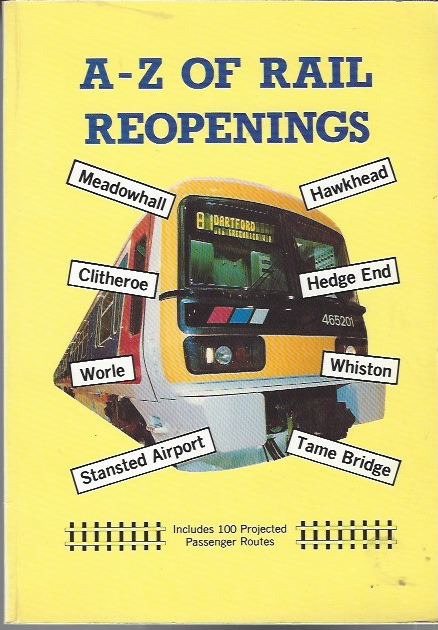 Image for A-Z of Rail Reopenings